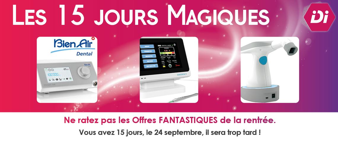 Bandeau 15 jours magiques site internet