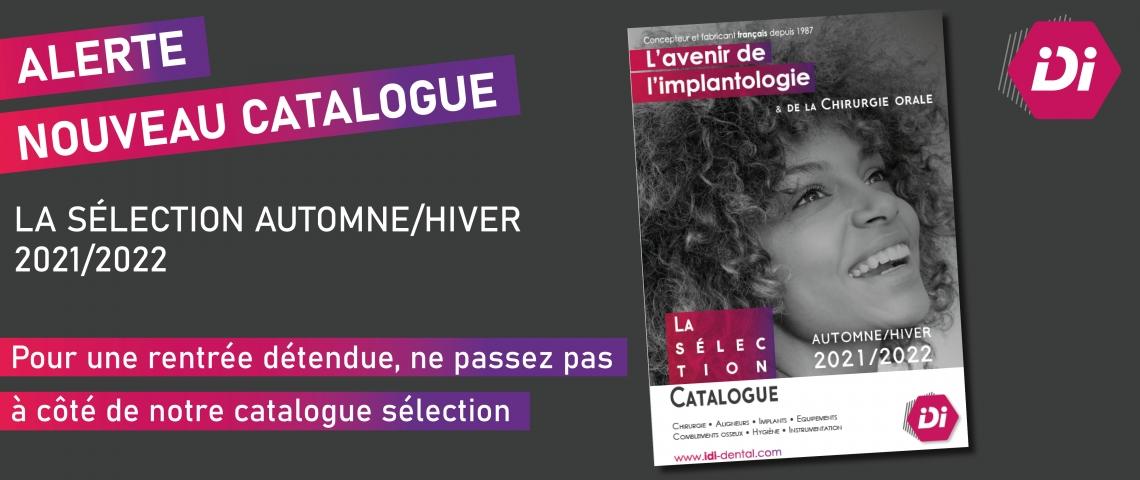 Bandeau nouveau catalogue